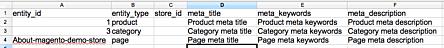 Import file format