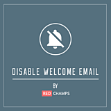 Disable Welcome Email