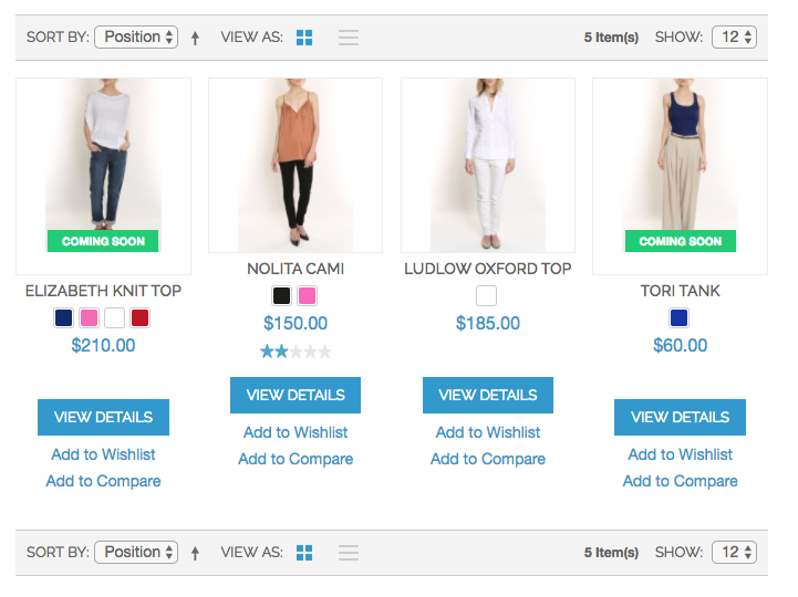 Magento 1 Extension for coming soon products