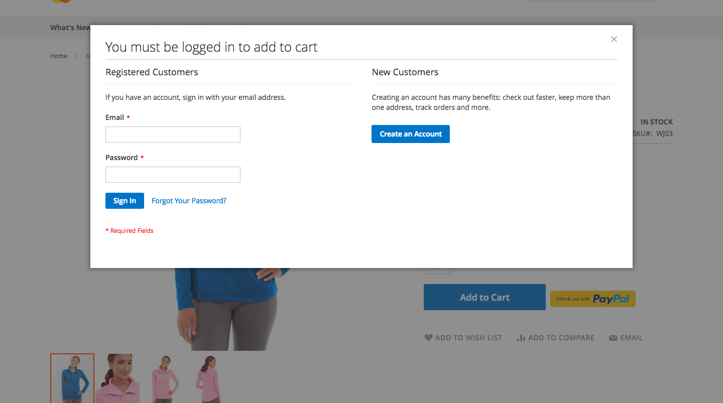 Magento2 extension for Login only Add to cart
